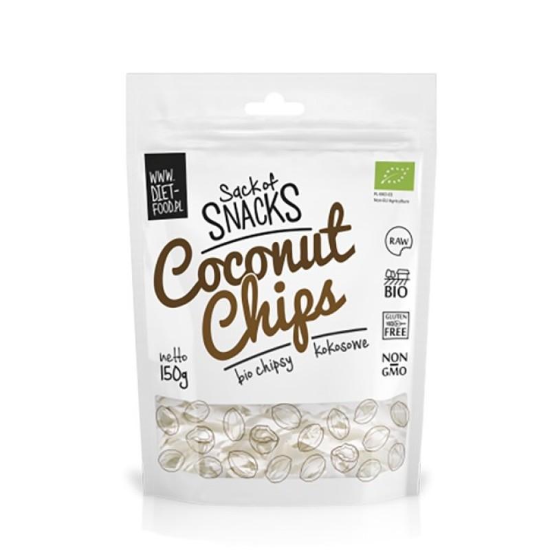 Chipsuri de cocos bio (150g), Diet-Food