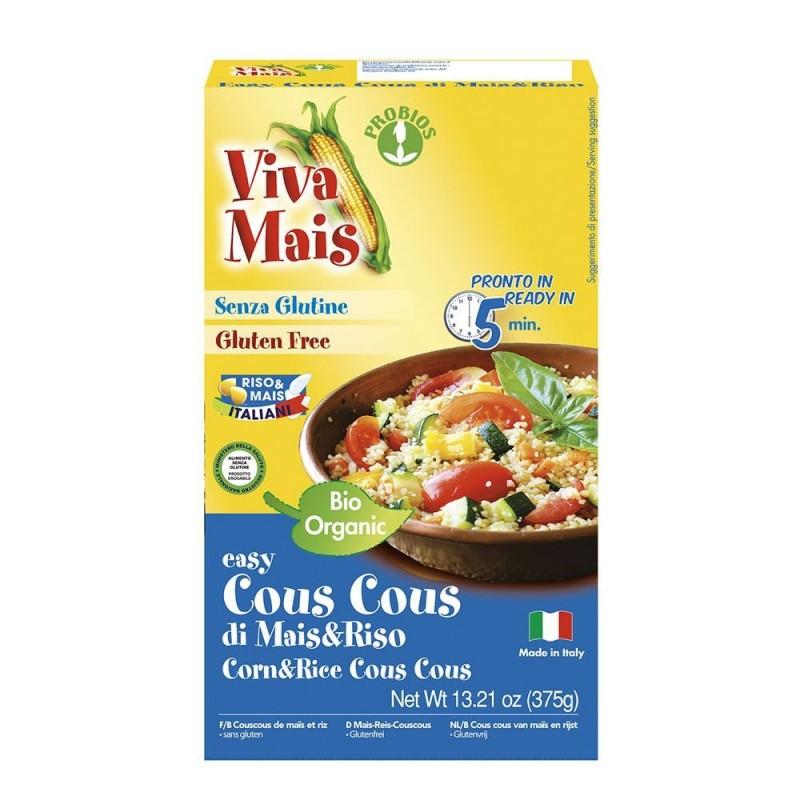 Cuscus din porumb si orez (375g), Probios