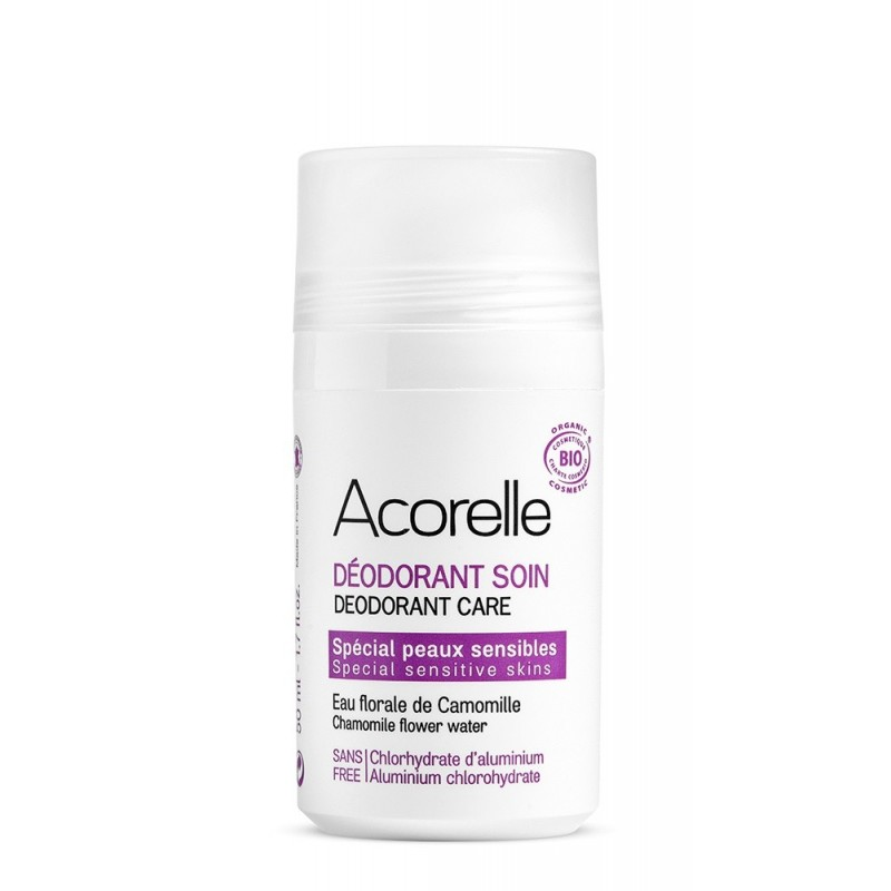 Deodorant bio pentru piele sensibila (50ml), Acorelle