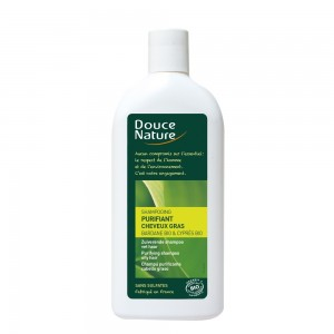 Sampon bio purifiant pentru par gras (300 ml), Douce Nature