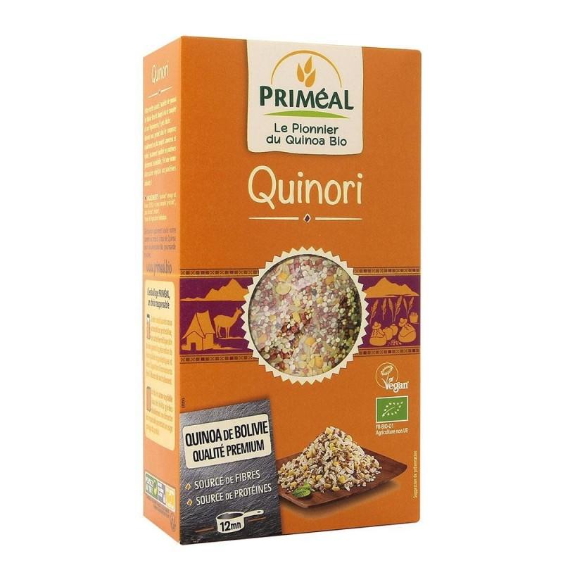 Quinori - amestec cu quinoa, orez, naut si seminte (500g), Primeal