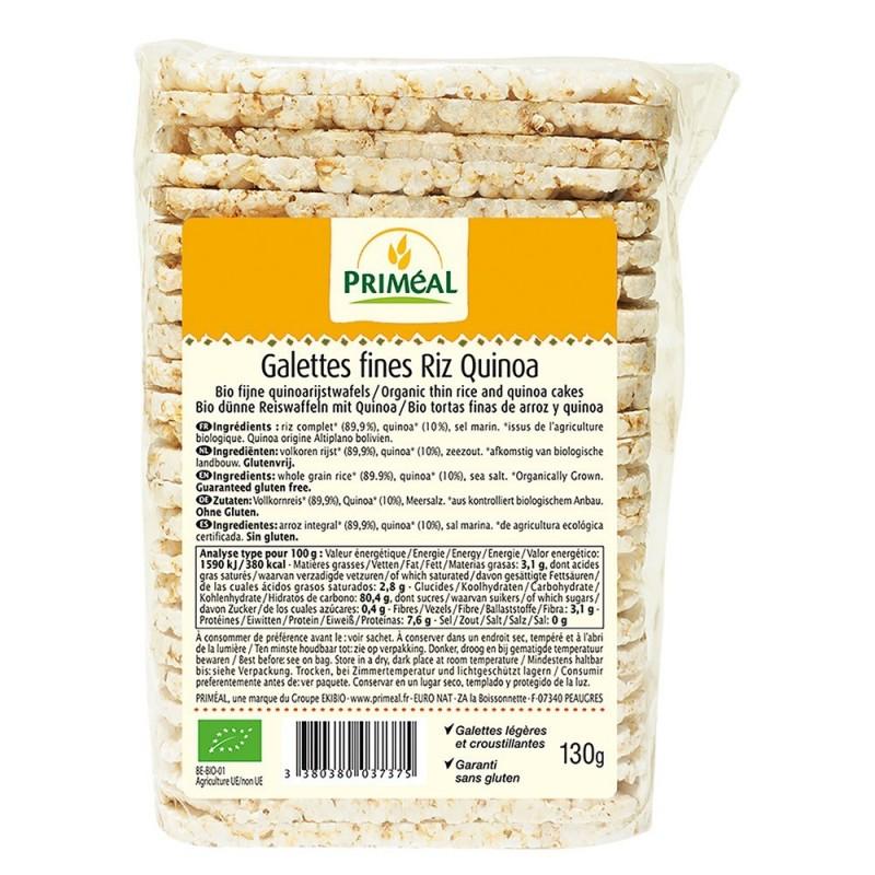 Turtite subtiri cu quinoa si orez (130g), Primeal