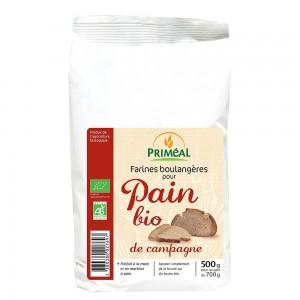 Amestec organic pentru paine de tara (500g), Primeal