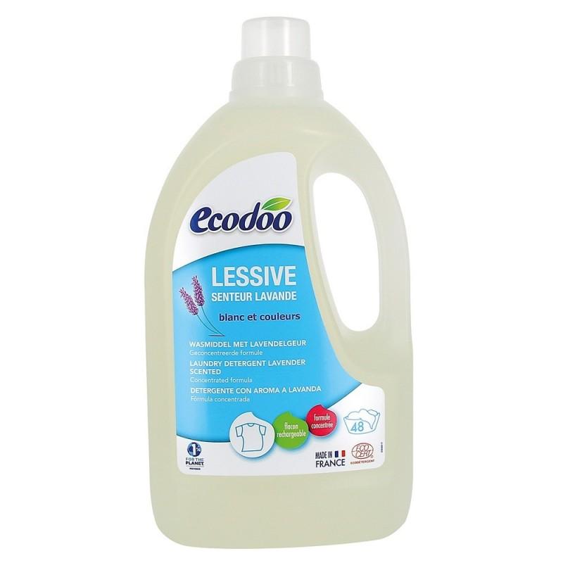 Detergent bio rufe cu aroma de lavanda (1,5L), Ecodoo