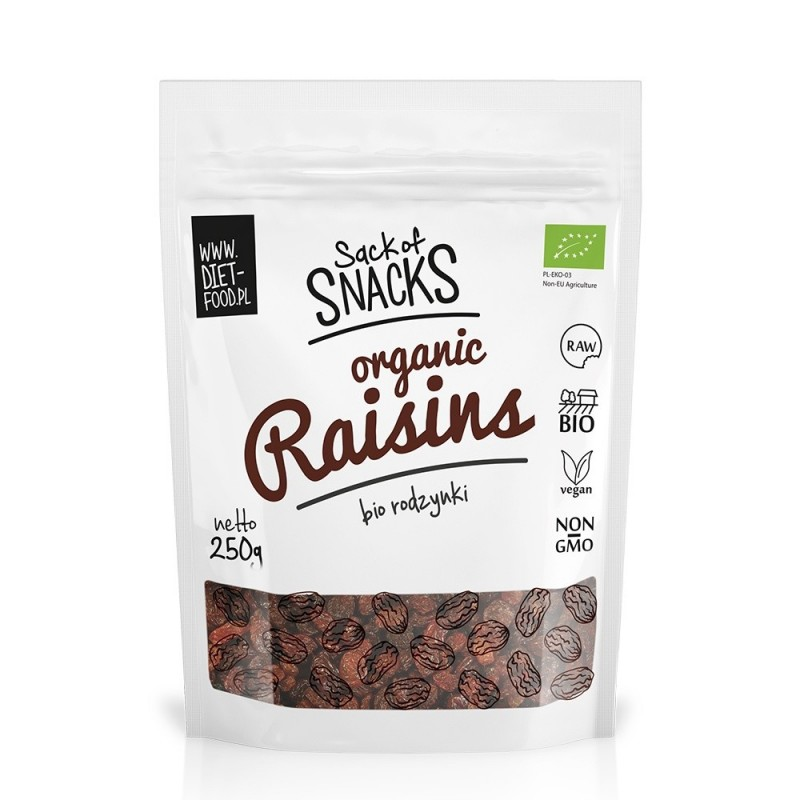 Stafide sultana bio (250g), Diet-Food
