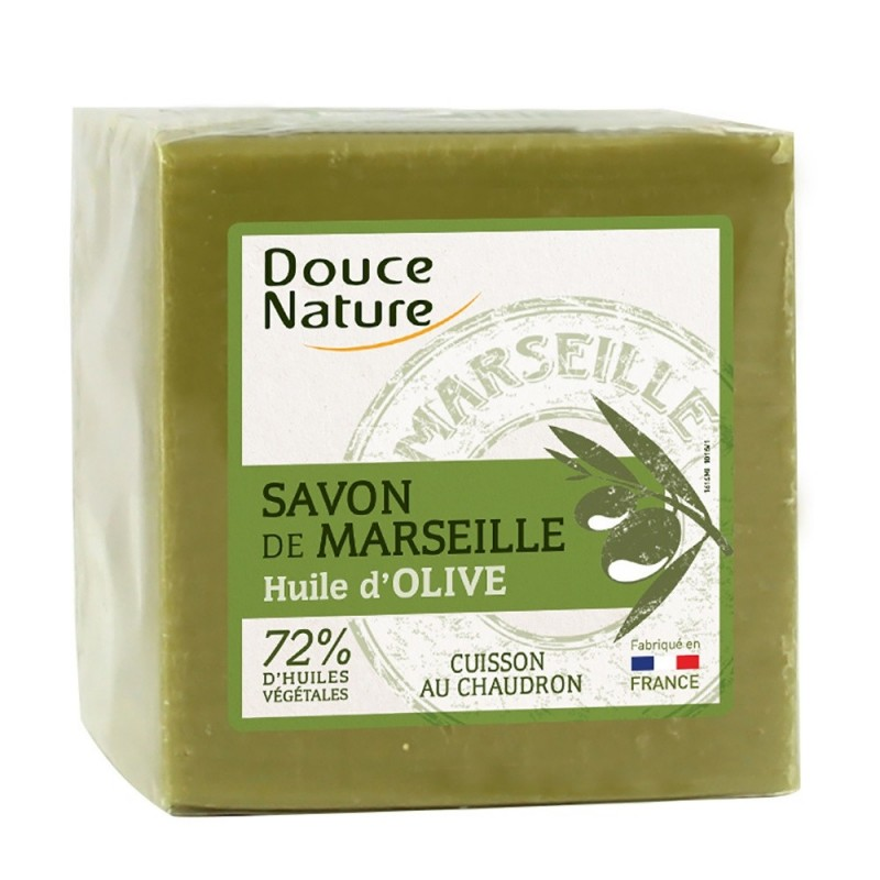 Sapun de Marsilia verde (600g), Douce Nature