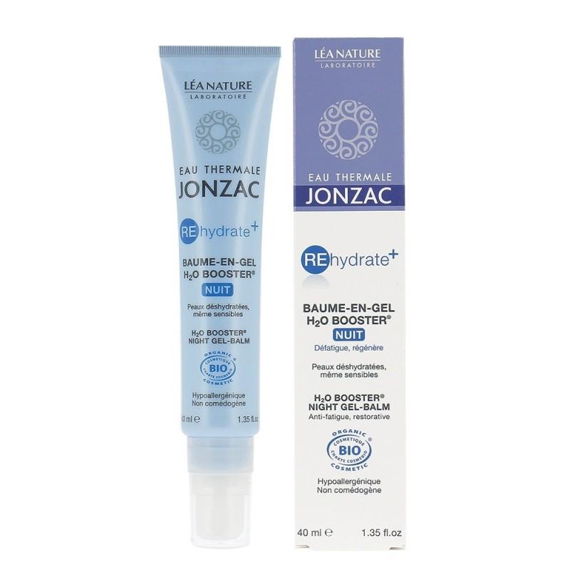 Rehydrate Plus - Balsam-gel de noapte H2O Booster (40ml), Jonzac