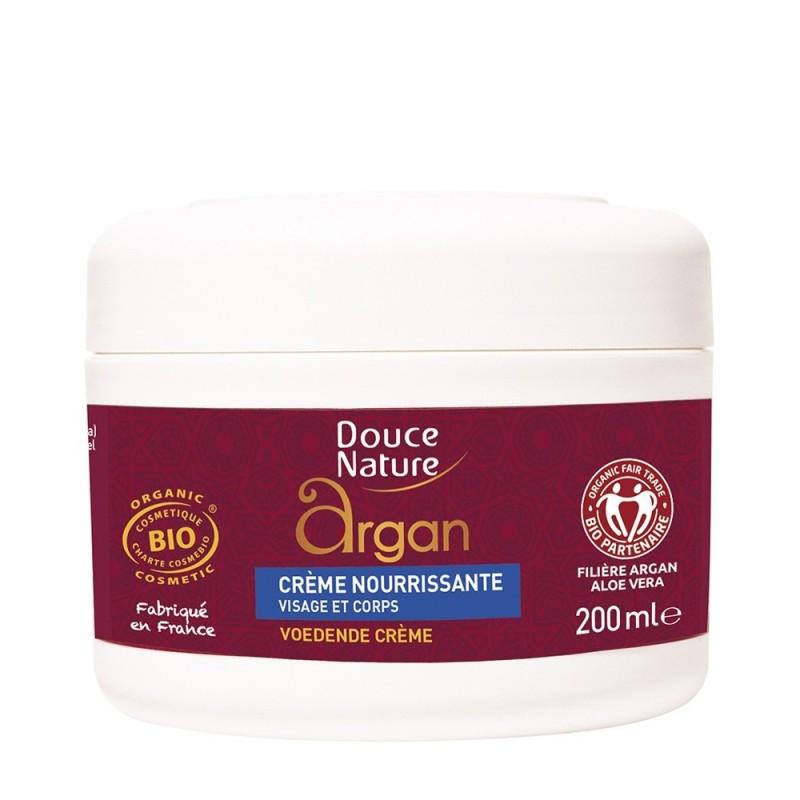 Crema nutritiva cu ulei de argan (200ml), Douce Nature