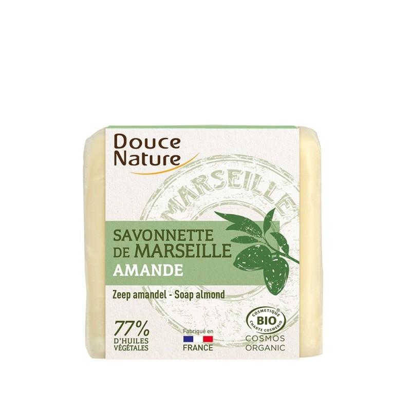 Sapun bio de Marsilia cu migdale (100g), Douce Nature
