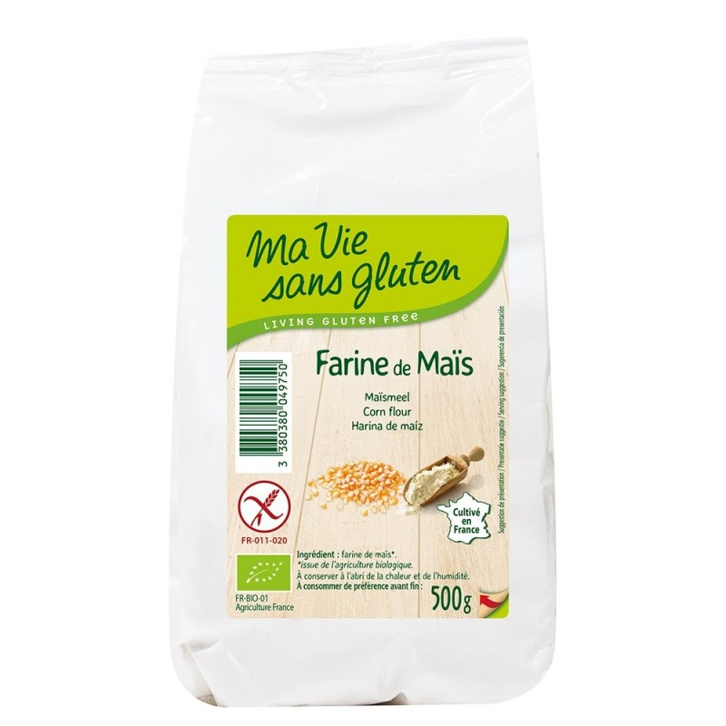 Faina de porumb - fara gluten (500g), Ma vie sans gluten