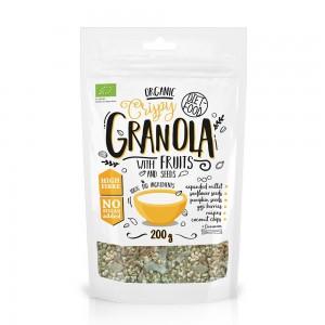 Granola bio cu fructe (200g), Diet-Food