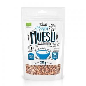 Musli bio cu seminte de chia (200g), Diet-Food
