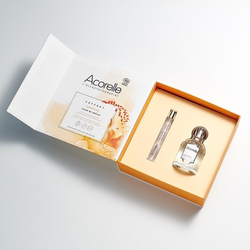 Set cadou FLEUR DE VANILLE (50ml), Acorelle + (10ml), Acorelle