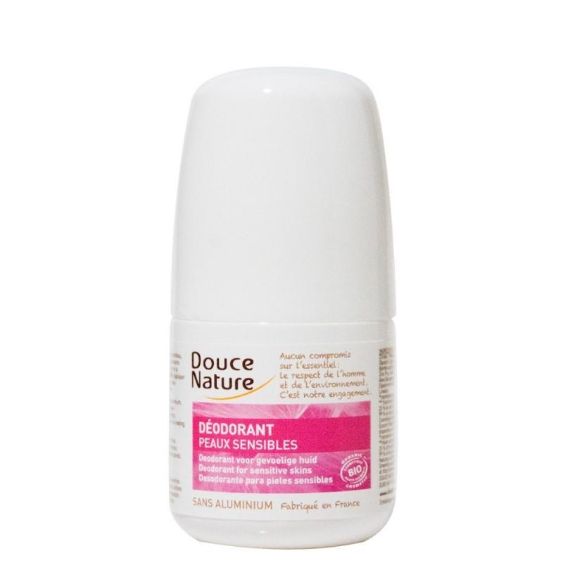 Deodorant bio roll on pentru piele sensibila (50ml), Douce Nature