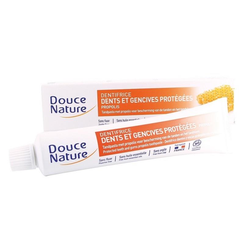 Pasta de dinti protectoare cu propolis (75ml), Douce Nature
