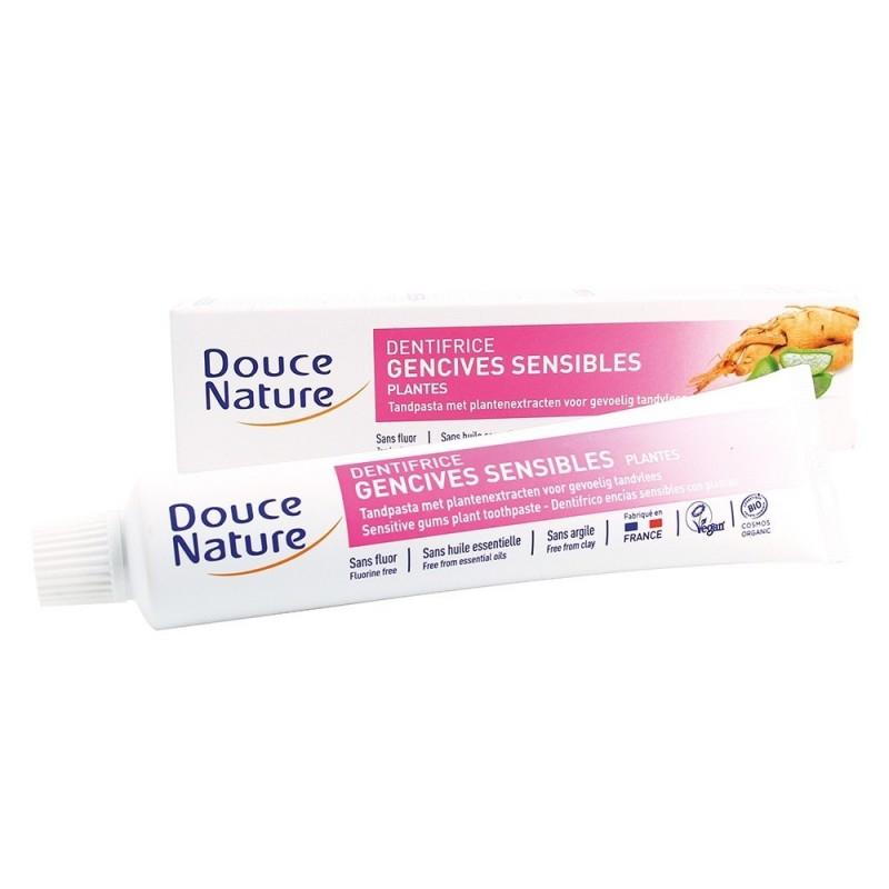 Pasta de dinti cu plante pentru gingii sensibile (75mll), Douce Nature
