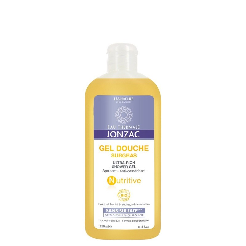 Nutritive - Gel de dus emolient 2(50ml), Jonzac