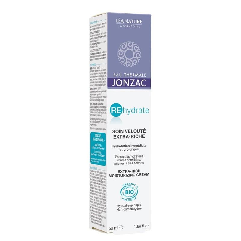 Rehydrate - Crema hidratanta ten uscat si foarte uscat (50ml), Jonzac