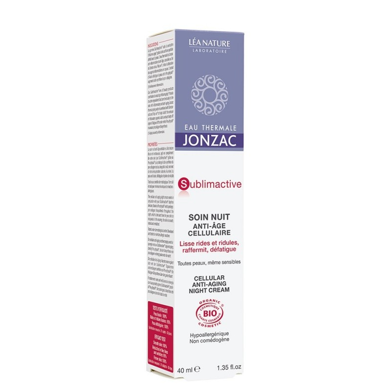 Sublimactive - Tratament de noapte celular anti-age (40ml), Jonzac