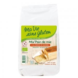 Amestec pentru paine cu quinoa - fara gluten (500g), Ma vie sans gluten