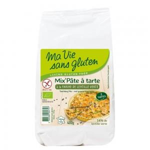 Amestec pentru tarta cu faina de linte verde - fara gluten (400g), Ma vie sans gluten