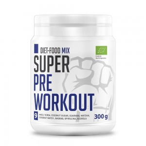 Bio Super Mix Pre-antrenament (300g), Diet-Food