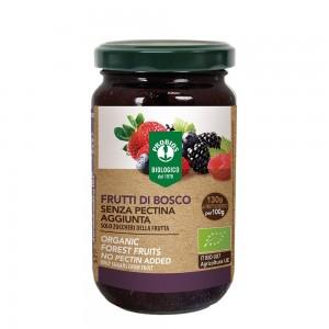 Gem fructe de padure fara zahar, fara pectina (220g), Probios