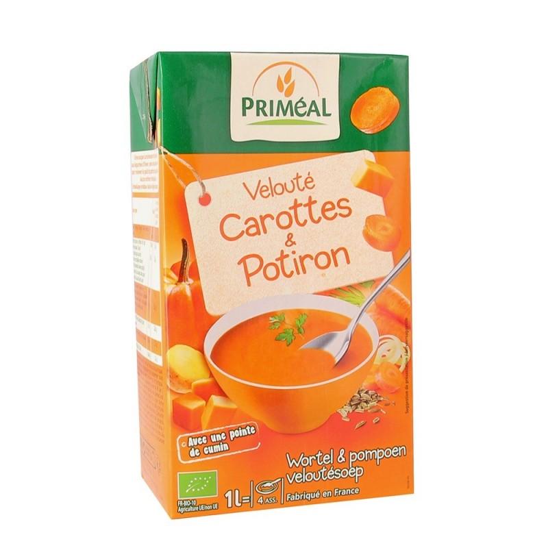 Supa crema cu morcovi si dovleac (1L), Primeal