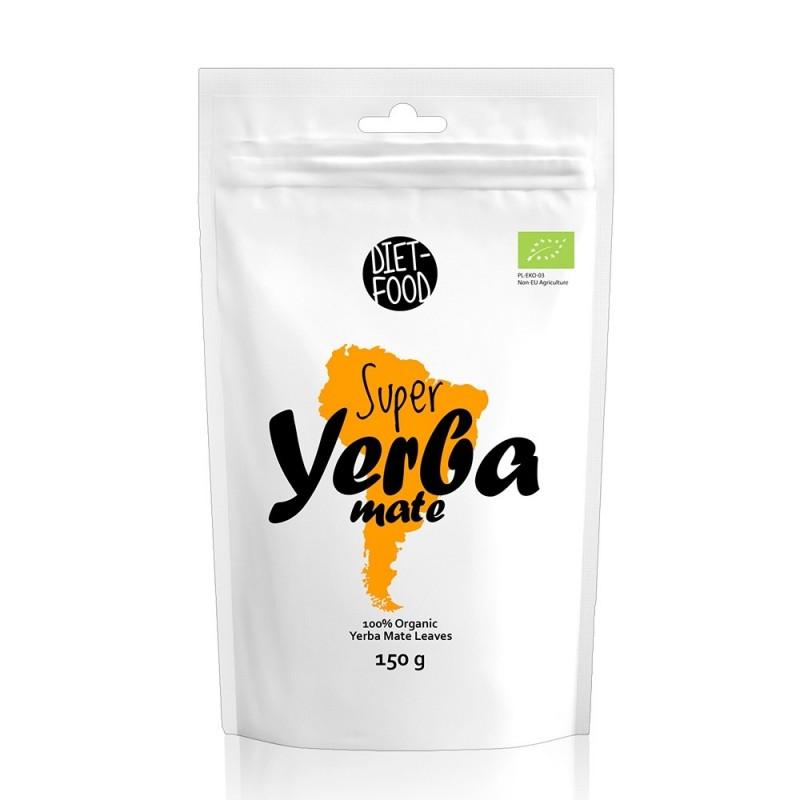 Ceai Yerba Mate premium bio (150g), Diet-Food
