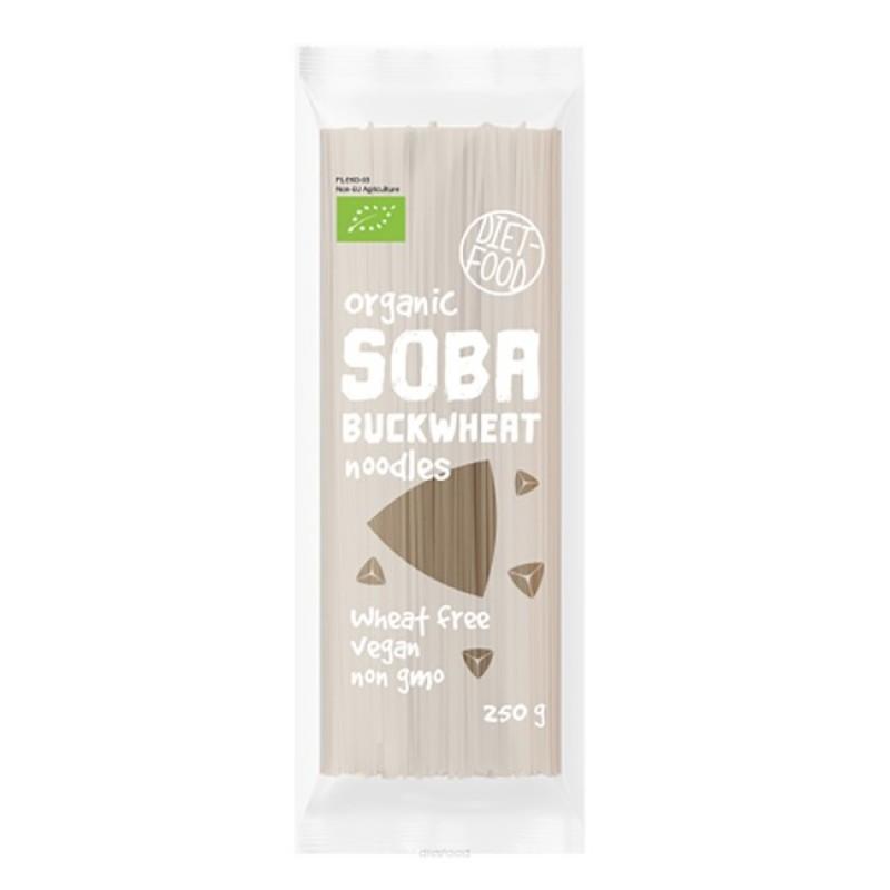 Paste Taitei Soba Bio 100% hrisca (250g), Diet-Food
