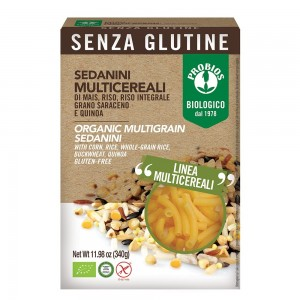 Macaroane multicereale - fara gluten (340g), Probios