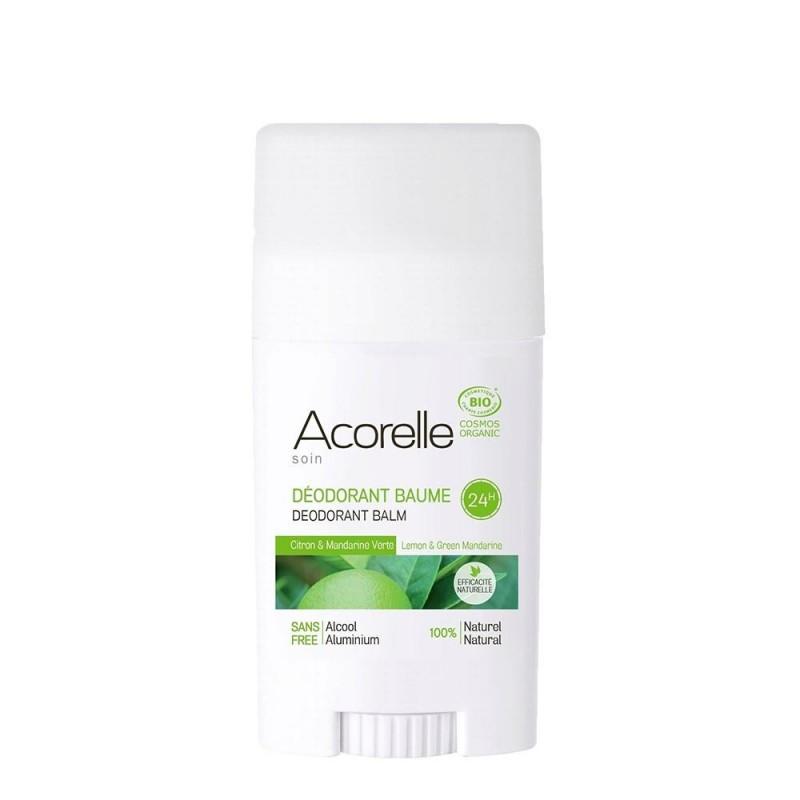 Deodorant eficacitate maxima - lamaie+mandarine verzi (40g), Acorelle