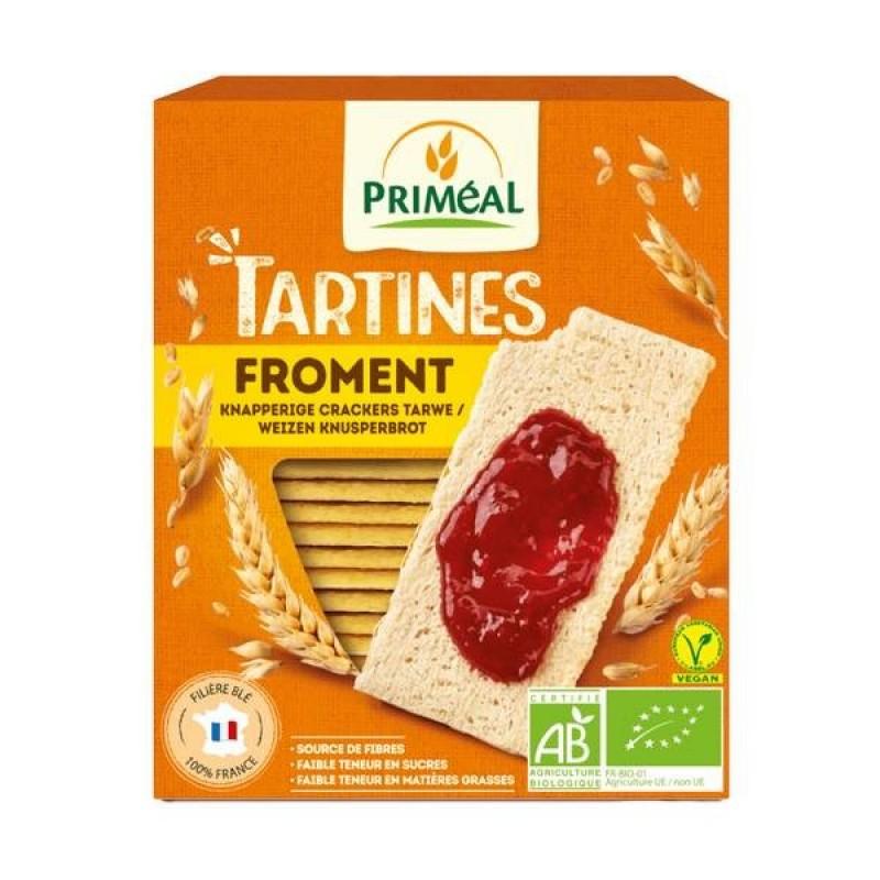 Tartine crocante cu faina de grau si secara (150g), Primeal