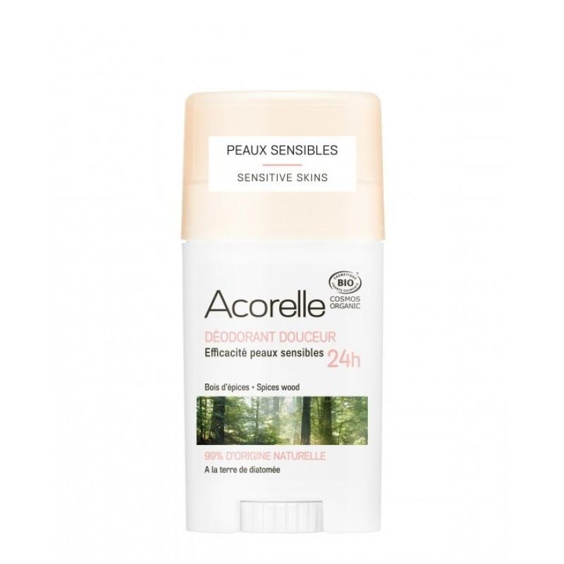 Deodorant stick-gel - lemn aromat (45g), Acorelle