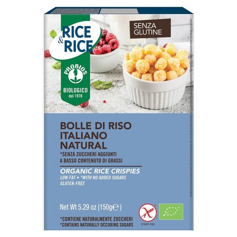 Bilute de orez fara gluten, fara zahar (150g), Probios