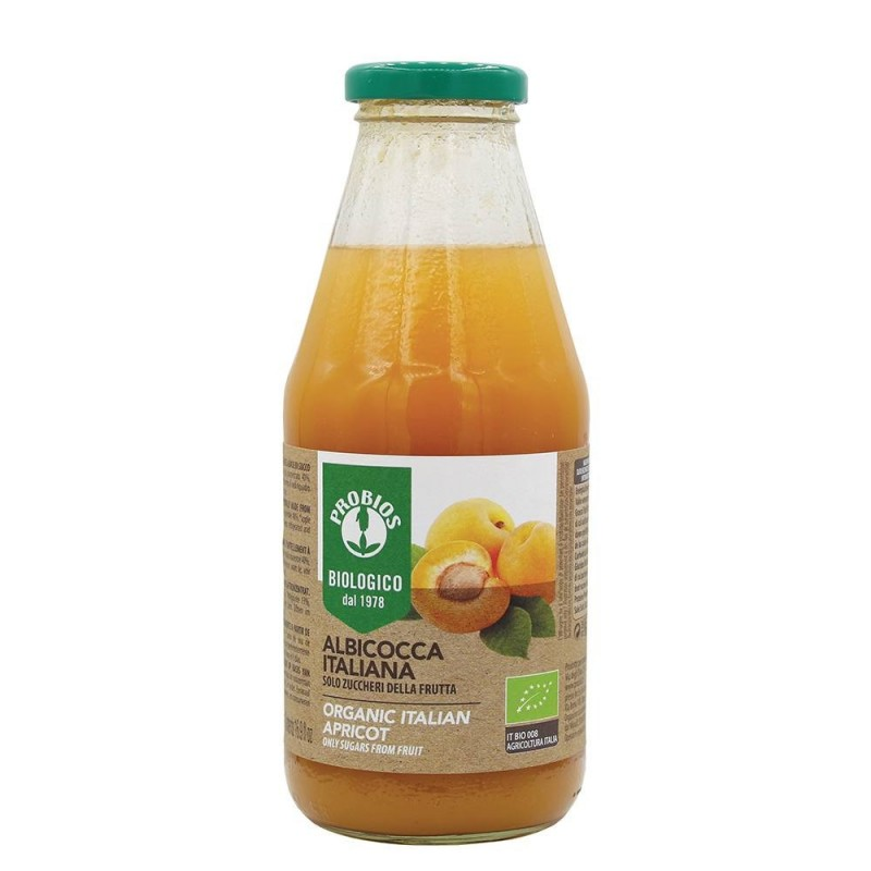 Nectar de caise fara zahar (500ml), Probios