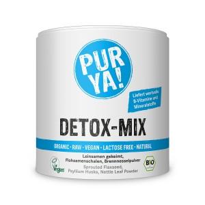 Detox mix raw bio (180 grame), Pur Ya!