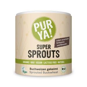 Hrisca germinata raw bio, Pur Ya! Super Sprouts (220 grame), Pur Ya!