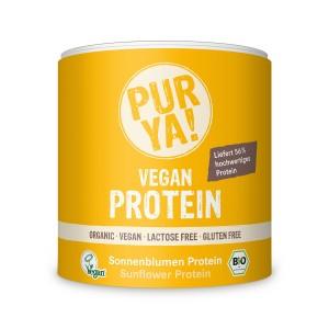 Proteina vegana din seminte de floarea soarelui bio (250 grame), Pur Ya!