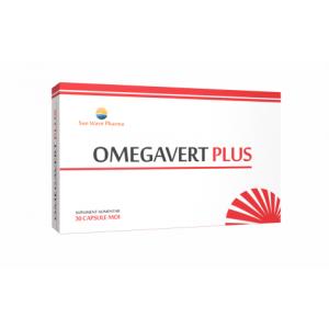 Omegavert Plus (30 capsule), Sun Wave Pharma