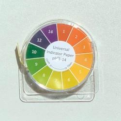 Rolă hârtie pH 1-14 (5metri), Metria