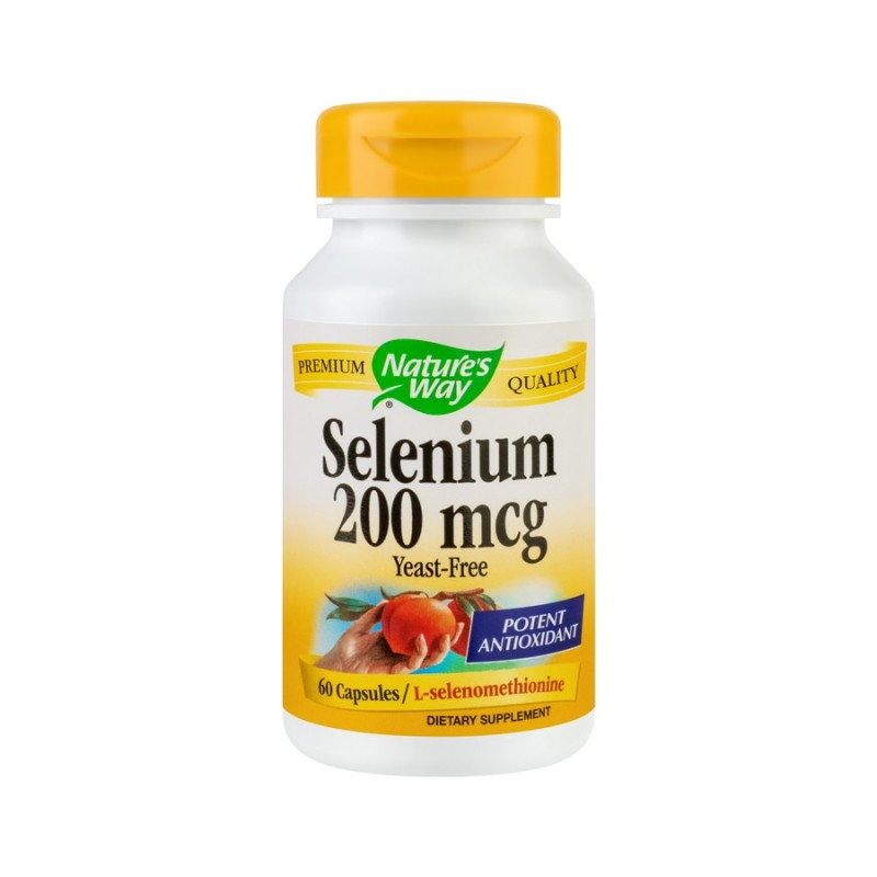 Selenium 200mcg (60 capsule), Nature's Way
