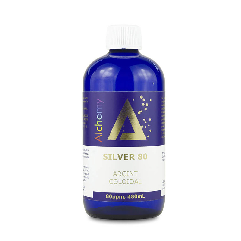 Argint coloidal Silver 80ppm (480 ml), Pure Alchemy