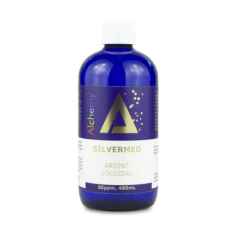 Argint coloidal Silver Med 50ppm (480 ml), Pure Alchemy