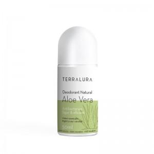 Deodorant Roll-on Natural Aloe Vera (50 ml), Terralura