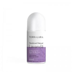 Deodorant Roll-on Natural Lavanda (50 ml), Terralura