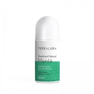 Deodorant Roll-on Natural Menta (50 ml), Terralura