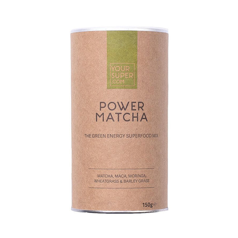 Power Matcha Organic Superfood Mix Pachet 3 bucati (150 grame), Your Super
