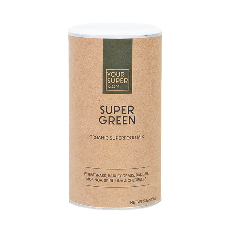 Super Green Organic Superfood Mix Pachet 3 bucati (150 grame), Your Super