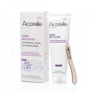 Crema depilatoare naturala pentru corp (150 ml), Acorelle